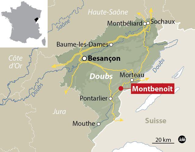 Un accident de car scolaire dans le Doubs fait au moins deux morts