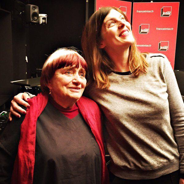 Agnès Varda et Valérie Donzelli