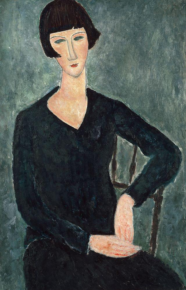 Modigliani, femme assise