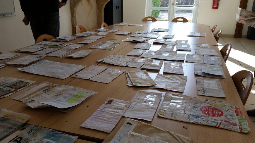 Les habitants de Laître-sous-Amance ont pu récupérer leurs lettres en mairie