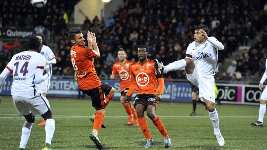 Le 211115 le PSG s'est imposé 2 buts à 1 à Lorient