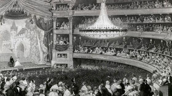 """Un """"théâtre à l'italienne"""" parisien ©Corbis"""