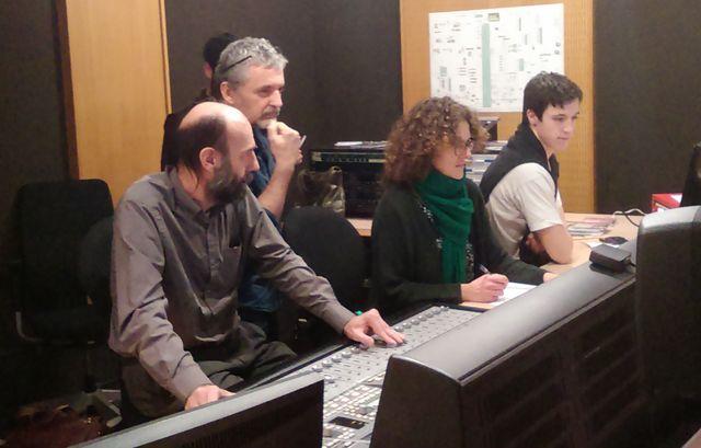 Pascal Deux et l'équipe technique