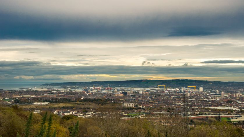 Sur les hauteurs de Belfast