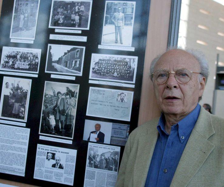 Henri Borlant (20.07.2002), 60ème anniversaire du 8ème convoi pour les camps
