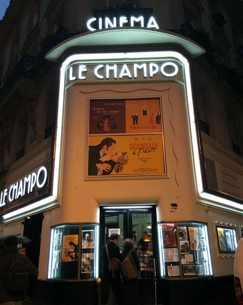 Cinéma Le Champo, dans le Quartier latin à Paris