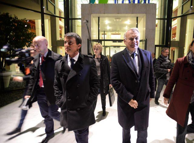 Manuel Valls était le ministre de l'Intérieur de Jean-Marc Ayrault entre 2012 et 2014.