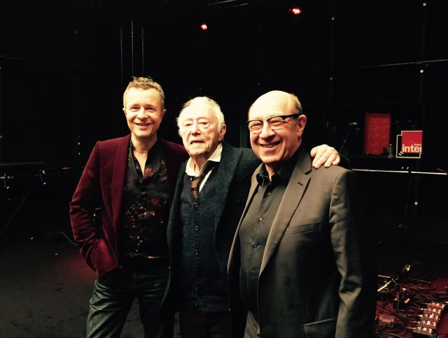 Laurent Goumarre, Maurice Renoma et Jacques Pessis