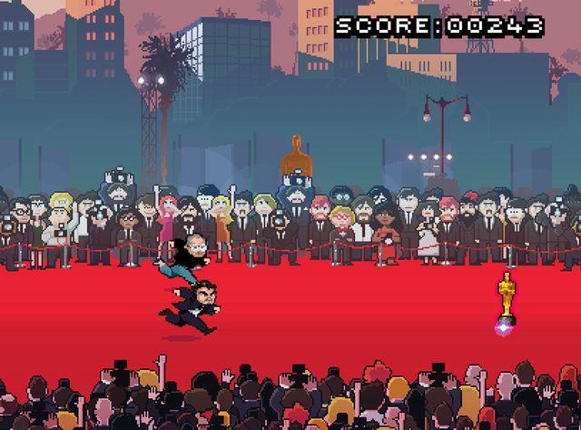 Red Carpet Rampage, le jeu pour offrir un Oscar à Di Caprio