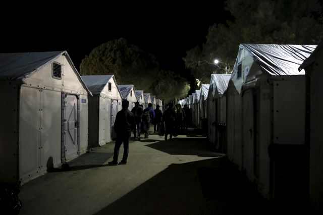 Hotspot à Lesbos
