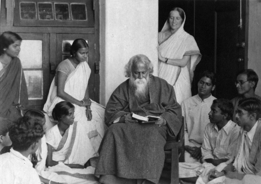 Rabindranath Tagore en 1925