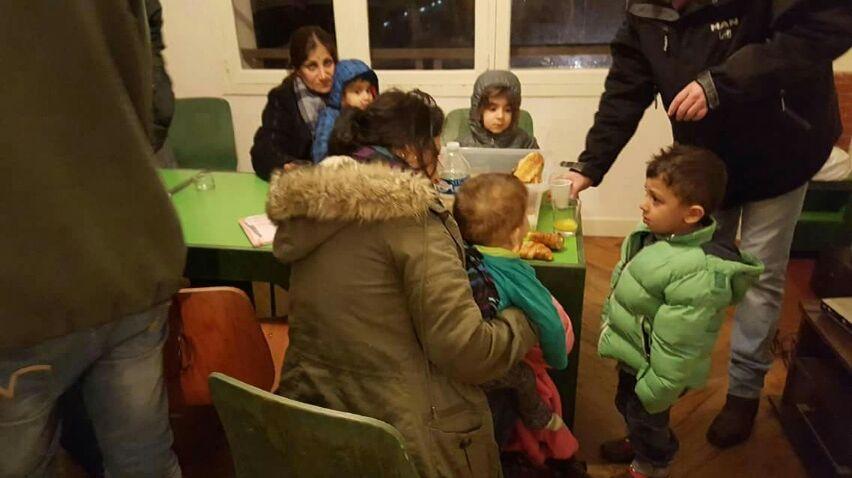 Les premiers migrants sont arrivés au Bouscat (Photo Emmaus)