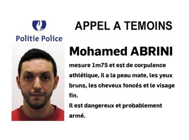 appel à témoins pour Mohamed Abrini