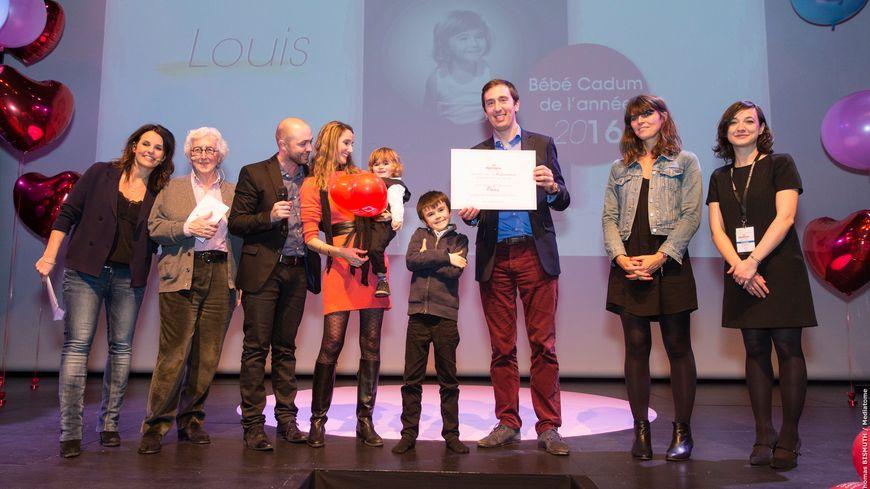 Louis, petit Marseillais de 25 mois est élu Bébé Cadum 2016