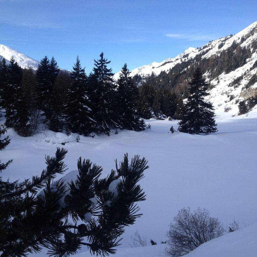 Entre Lanslebourg et Bessans