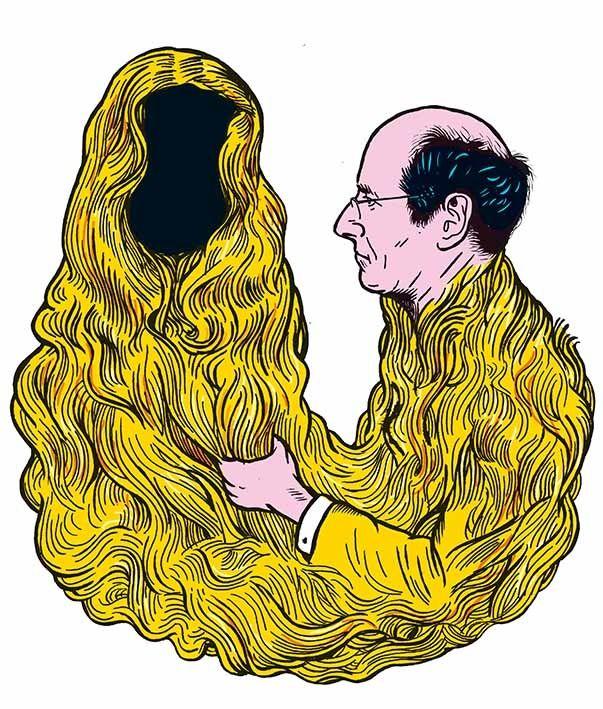 """""""Couple"""" de Gaston Louis-Dreyfus"""