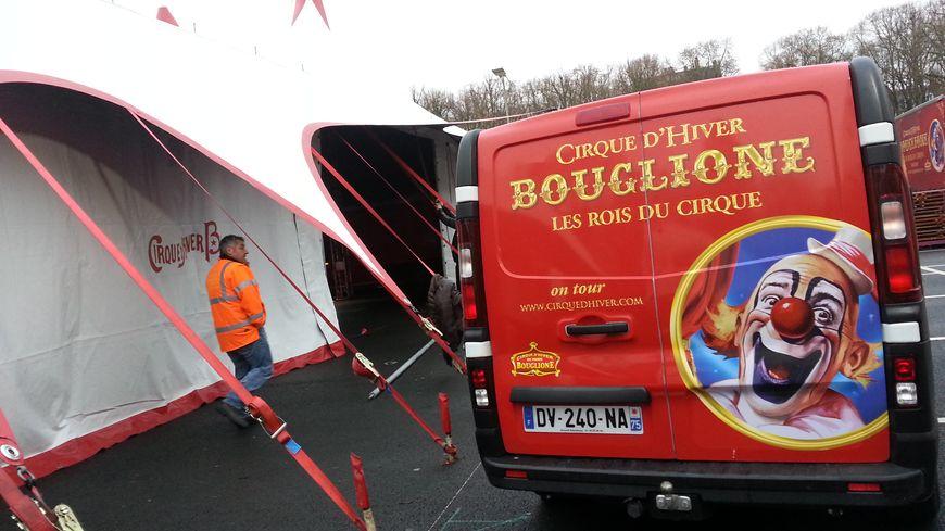 Le cirque Bouglione s'installe cinq jours aux Quinconces des Jacobins