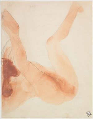 Femme nue aux jambes écartées Après 1896