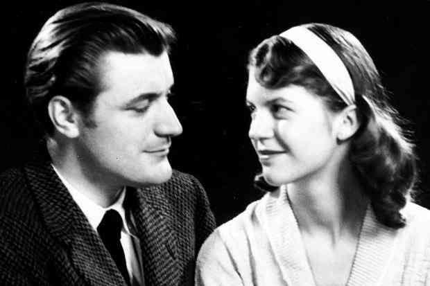 Ted Hughes et Sylvia Plath