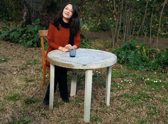 Julie Cheminaud à la Villa Médicis, à Rome