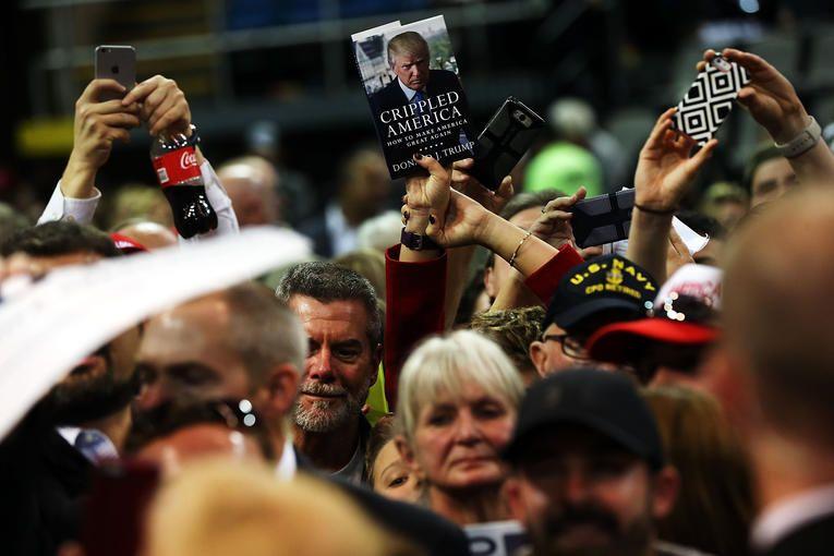 Des supporters de Trump dans le Mississippi, 2/01/2016, Courrier International