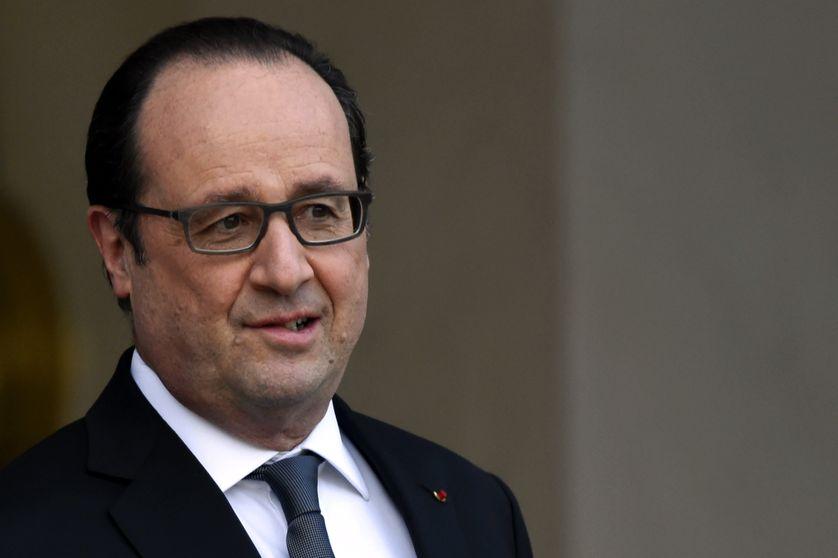 François Hollande, le 17 février 2016