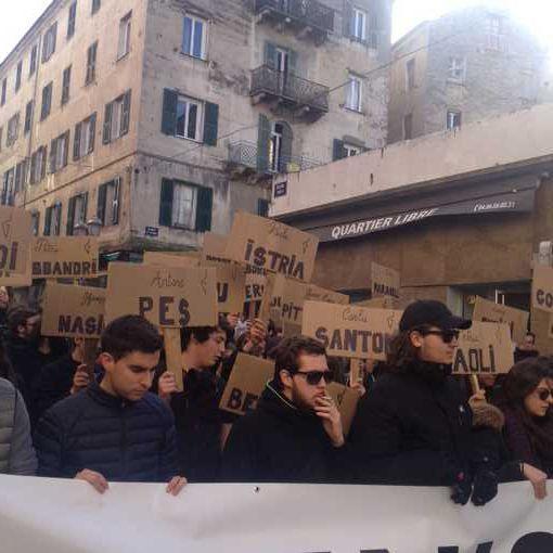 Pour l'amnistie des prisonniers politiques corses