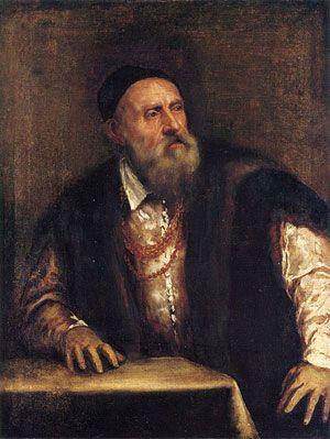 Titien : autoportrait (vers 1550-1562)