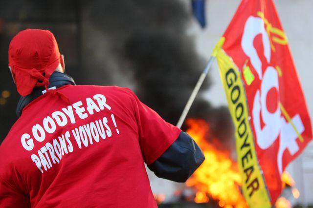 La CGT se mobilise pour demander la relaxe des ex-salariés de Goordyear