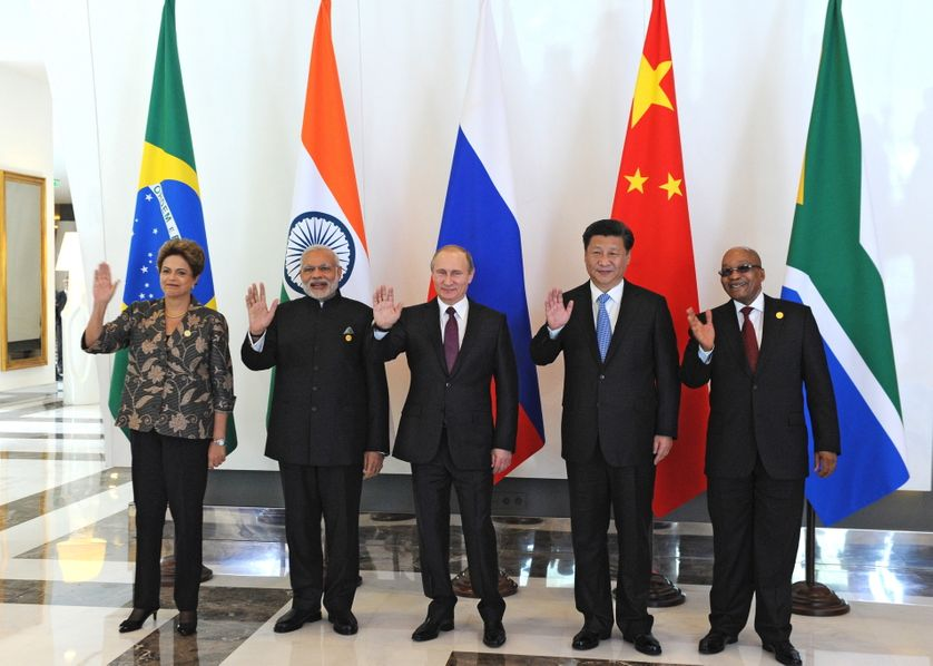 Les dirigeants des BRICS lors du dernier G20 fin 2015