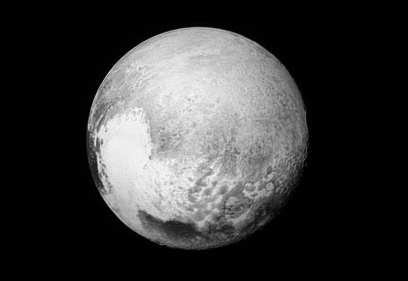 """Pluton et son """"coeur brisé"""""""