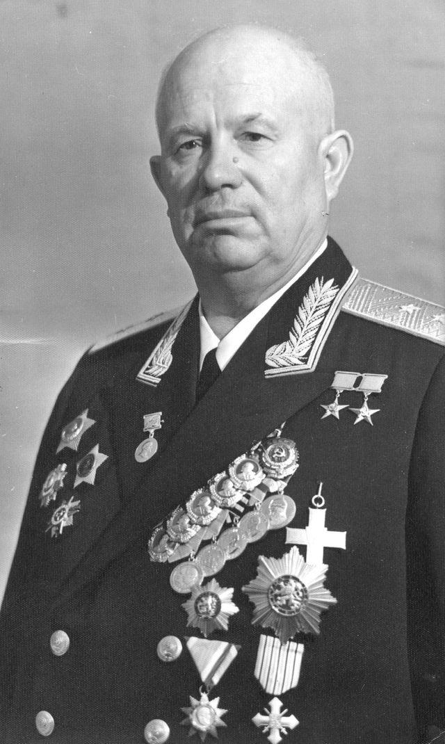 Nikita Khrouchtchev dans les années 50