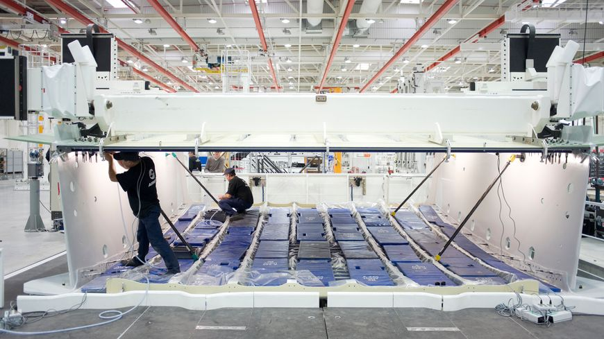 A Nantes, Airbus fabrique notamment les tronçons centraux de  ses avions