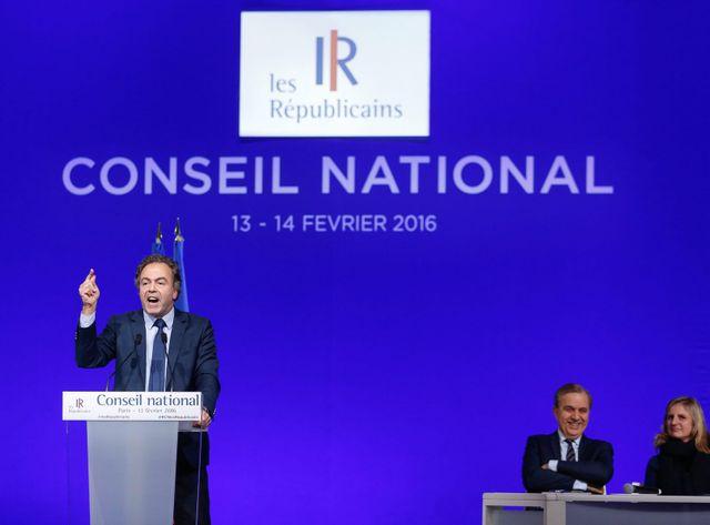 Luc Chatel a été élu à la tête du Conseil national les Républicains