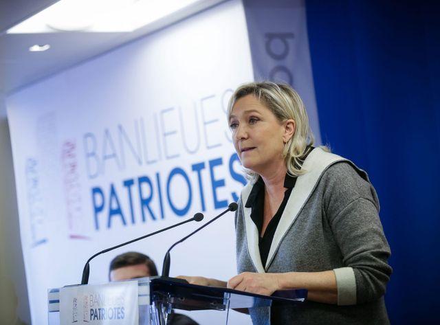 """Le FN a récemment lancé le collectif """"banlieues patriotes"""""""