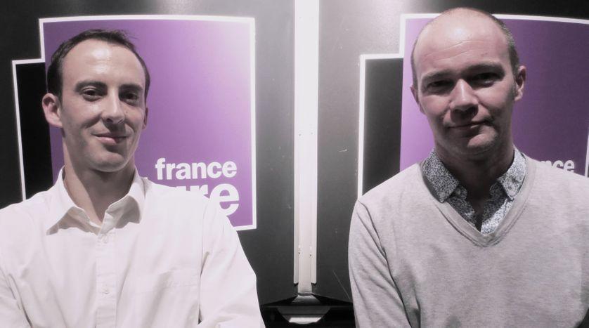 Rudy Bessard et Serge Massau