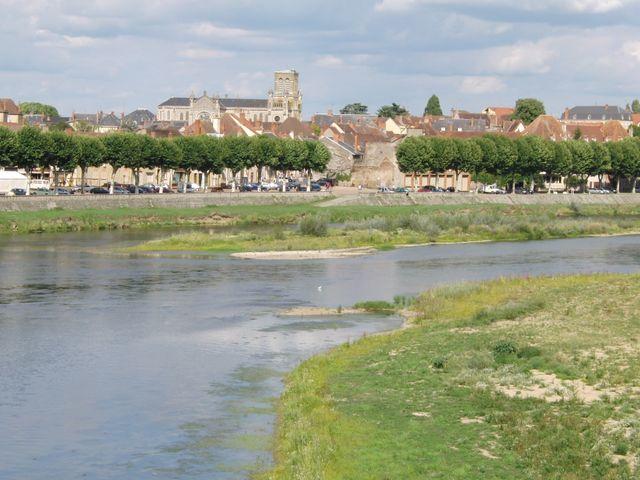 Digoin vue de la Loire