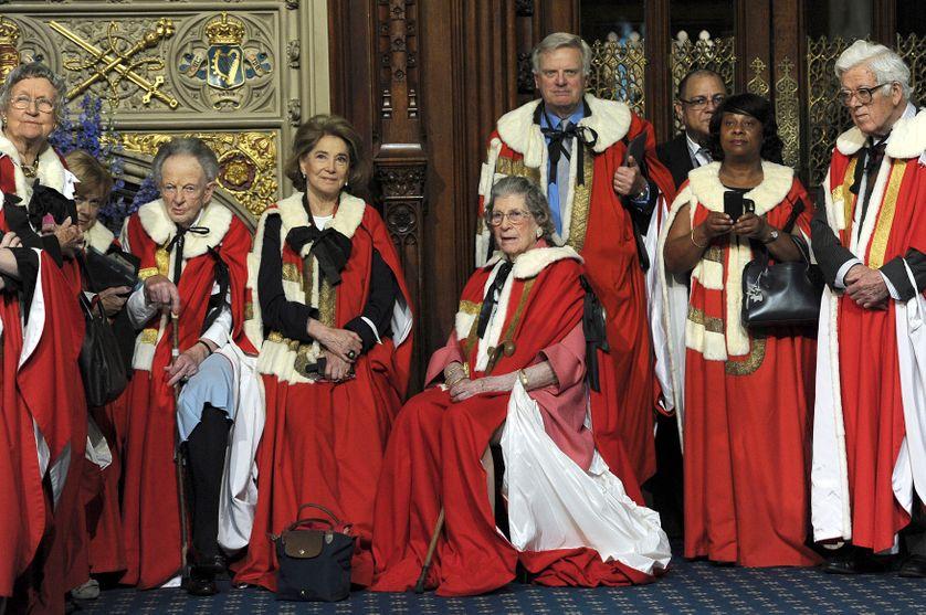 Des membres de la Chambre des Lords en juin 2014