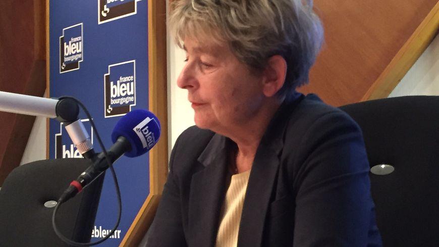 Marie-Guite Dufay, président PS de Bourgogne-Franche-Comté