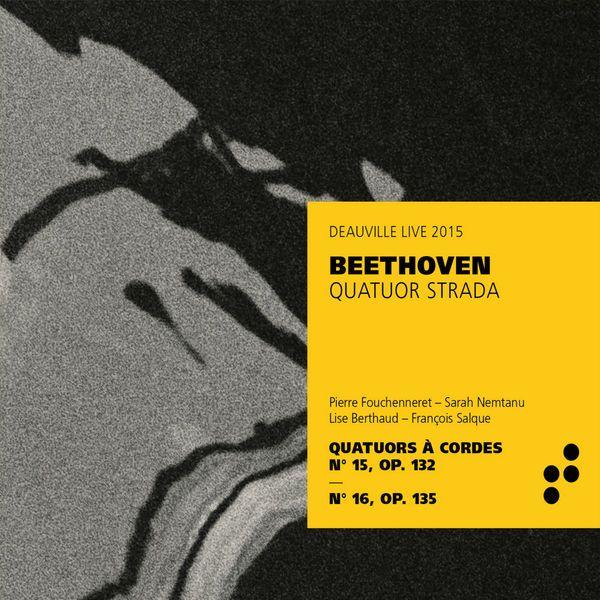 Disque Beethoven - Quatuor Strada (B Records)