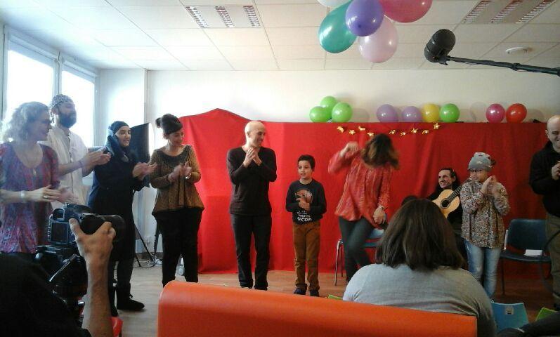 Zebda fait danser les enfants de la Timone (et leurs accompagnatrices)