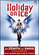Holiday on ice 2016 / Affiche