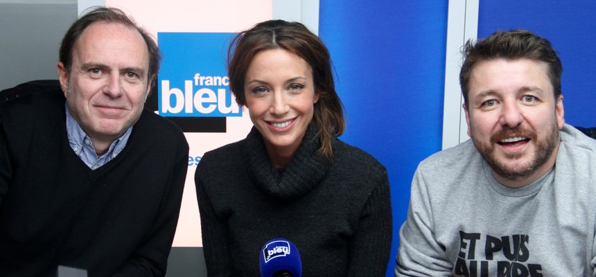 Laurent Didailler, Virginie Guilhaume et Bruno Guillon