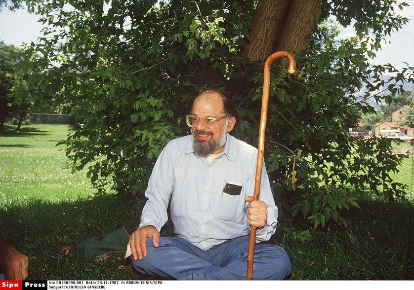 Allen Ginsberg, 1987