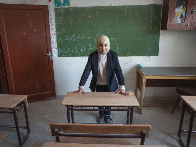 Fatima, 12 ans, veut devenir enseignante.