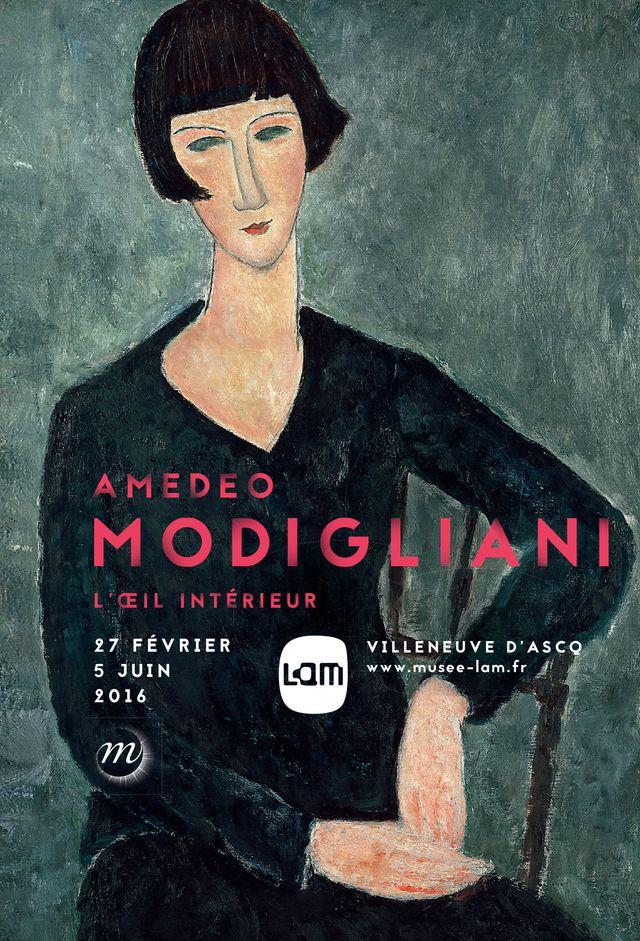 Modigliani L'oeil intérieur LaM, Villeuneuve d'Asq