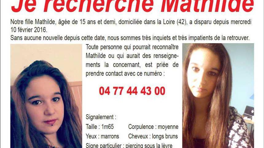 La jeune Roannaise était portée diparue depuis le 10 février