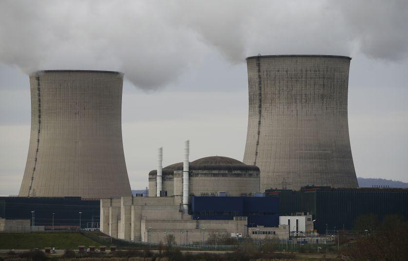 La centrale nucléaire de Cattenom, dans l'est de la France, le 27 janvier 2016