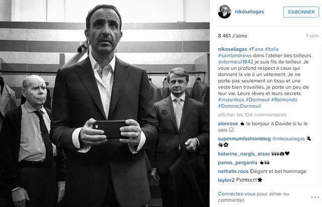 L'instagram de Nikos Aliagas