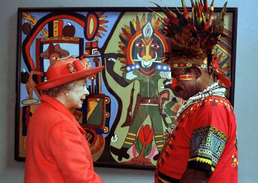 Elisabeth II est reine de la Papouasie depuis son indépendance en 1975